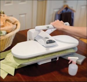 Steam Press table top effortless ironing
